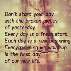 Living a day at a time. Moving on after narcissistic sociopath relationship abuse.