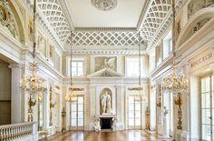 Łazienki - Pałac na Wyspie, sala balowa, Poland