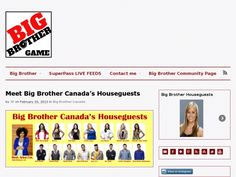Big Brother Canada's houseguests