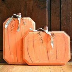 plaque pumpkins