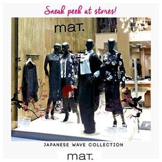 Η βιτρίνα του καταστήματος μας στη Γλυφάδα ντύθηκε με την Japanese Wave collection και απέσπασε τα καλύτερα σχόλια από τις #matfashion φίλες! Ανακάλυψε την συλλογή στο κοντινότερο σου κατάστημα ή στο online store! #mat_glyfada {Gr. Lampraki 15} #fallwinter2016 #collection #fashion #inspiration #style #musthave #trend #shopping #athensriviera