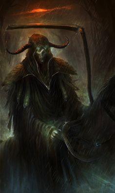 The Grim Reaper by TomEdwardsConcepts.deviantart.com on @DeviantArt