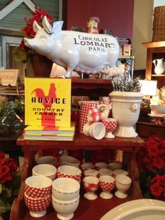the dove's nest:  we love our new french farmhouse goodies.