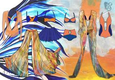Final Major Project for Contour Fashion (BA Hons), based on the poem 'Annabel Lee'by Edgar Allen Poe. Including hand painted silk pieces, Lingerie, Swimwear and Resortwear.