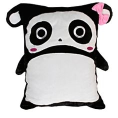 @Overstock.com - Add this supper soft and cuddly pet pillow with microplush applique to your room decor. This great pillow features soft microplush construction.http://www.overstock.com/Home-Garden/Panda-18x22-inch-Pillow/7018533/product.html?CID=214117 $29.99