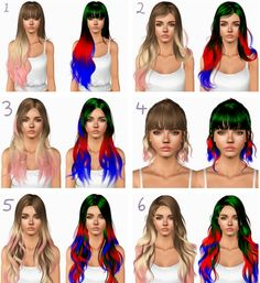 Newsea`s hairstyles retextured by Plumbombshell for Sims 3 - Sims Hairs - http://simshairs.com/newseas-hairstyles-retextured-by-plumbombshell/