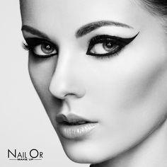 Nail Or #makeup #eyeliner #black