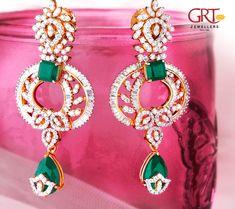 4f4f75f2e 13 Best Earring images | Diamond jewellery, Diamond jewelry, Diamond ...
