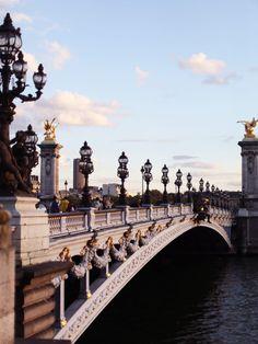 Pont Alexandre III, Paris  |  pinterest: @Blancazh