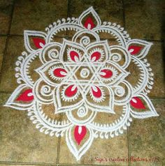 Explore latest easy rangoli design image ideas collection for Diwali. Here are amazing simple rangoli designs to decorate your home this festive season. Easy Rangoli Designs Diwali, Indian Rangoli Designs, Simple Rangoli Designs Images, Rangoli Designs Latest, Rangoli Designs Flower, Free Hand Rangoli Design, Rangoli Border Designs, Small Rangoli Design, Rangoli Patterns