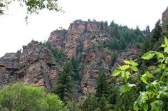 From Glenwood Canyon CO
