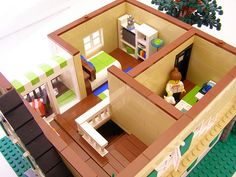 Tan House (2nd Floor) | My first house with a roof! Yay! 2nd… | Flickr