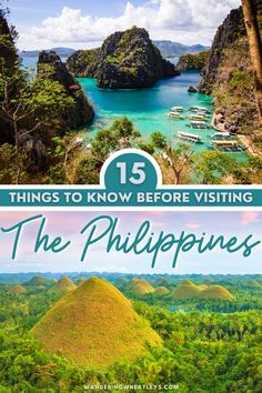 Planning to travel to the Philippines? Here are 15 Things to Know Before Visiting The Philippines that include everything safety to visas, and more! I things to do in Philippines I what to do in Philippines I Philippines safety tips I how to get around the Philippines I Philippines travel I food in the Philippines I travel tips for the Philippines I Philippines travel tips I Philippines advice I Philippines travel advice I information on travel in the Philippines I #Philippines #traveltips Philippines Travel Guide, Visit Philippines, Cool Places To Visit, Places To Travel, Travel Destinations, Travel Guides, Travel Tips, Travel Advice, Vietnam Travel
