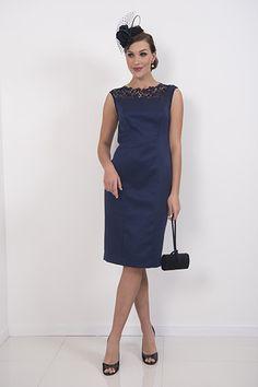 Navy Jolie Dress – piadupradalonline