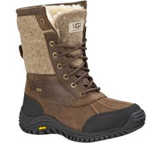 UGG Adirondack Boot II - Stout/Stout with FREE Shipping & Exchanges.   All the elements are in place to keep your feet warm, dry and comfortable.  The Cold Weather