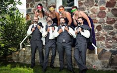 Regina -Yorkton-Wedding- Photography-13- wedding party having fun with props