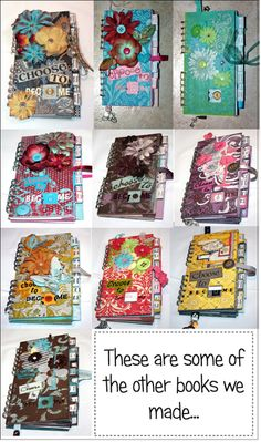 Journals from my sisters • Creative Mommas