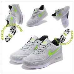 timeless design 86d97 264c7 Mode   Nike Chaussure Sport Air Max 90 2016 Femme Nouveau High-Frequency  Argent Gris