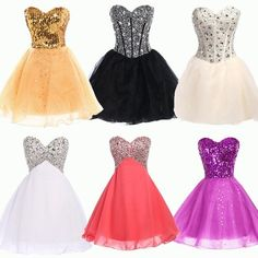 5Style Sexy Women Formal Homecoming Prom Gown Cocktail Short Party Evening Dress