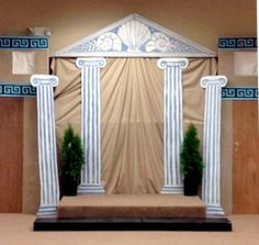 Resultado de imagen de decoracion antigua grecia fiesta carnaval