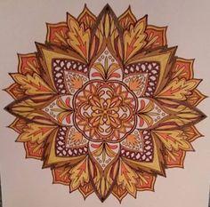 ColorIt Mandalas Volume 1 Colorist: Jeanne Duvall #adultcoloring #coloringforadults #mandalas #mandalastocolor