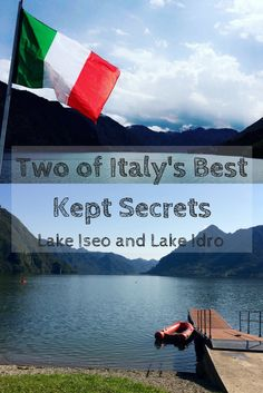 Lake Iseo and Lake Idro are in-between Lake Como and Lake Garda. They are referred to as Italy's best kept secrets from the locals, which is why our host family was excited to take us.