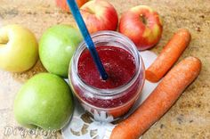 Di gotuje: Koktajl z soku z czerownych buraków, jabłka i marc...