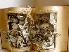 The Wonderful Wizard of OZ altered antique by Raidersofthelostart