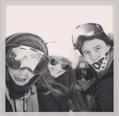 Louis, Eleanor and friends skiing in France recently!
