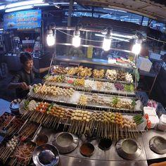 Food market in Kuala Lumpur #Malaysia -  @lonelyplanet