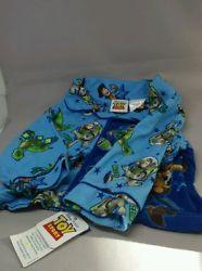 Disney Pixar Toy Story Pajama Top Only Sz12 / 18 Month LS flannel Buzz Woody