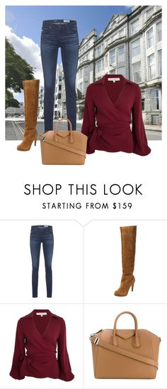 """City flame"" by everydaytalks on Polyvore featuring AG Adriano Goldschmied, Ava & Aiden and Givenchy"