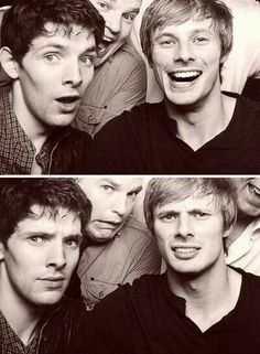 Collin Morgan & Bradley James <3