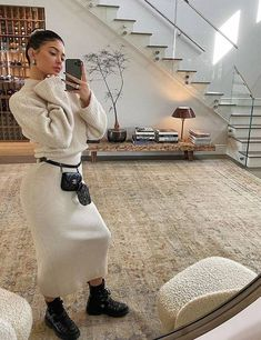 Celebrity Winter Outfits: 34 Looks We Want to Copy This Week Ropa Kylie Jenner, Kylie Jenner House, Kylie Jenner Outfits, Kylie Jenner Style, Kendall Jenner, Kylie Jenner Fashion, Winter Fashion Outfits, Look Fashion, Autumn Winter Fashion