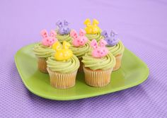 Hoppy Easter cupcakes!