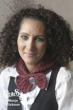 CraSy, Kopf und Kragen - Sylvie Rasch - Modell Angela Crochet, Fashion, Accessories, Man Scarf, Headboard Cover, Men And Women, Scarves, Scale Model, Projects