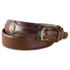 Just found this Leather Ranger Belt for Men - Heritage Leather Shotshell Ranger Belt -- Orvis on Orvis.com!