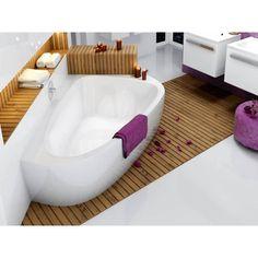 Raumsparbadewanne 195 X 140 Cm Schürze Weißim Lieferumfang Nur Die  Badewanne Für 2 Personenmit Schürze Wannenfüßen Und Ablaufgarnitur  VerchromtWaschtisch, ...