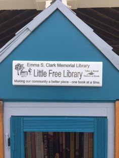 Our Little Free Library is up at West Meadow Beach! Special thanks 2 Town of Brookhaven & Park Ranger Molly Hastings! And our teen volunteers who will be maintaining it all summer! http://www.emmaclark.org/littlefreelibrary/