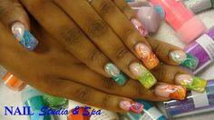 Rainbow Twist by Akonihb91 - Nail Art Gallery nailartgallery.nailsmag.com by Nails Magazine www.nailsmag.com #nailart