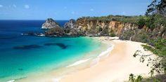Archipel Fernando de Noronha: avec un nombre de visiteurs limité à 200 personnes par jour, c'est des exemples les plus achevés d'écotourisme au Brésil. Ce petit paradis est classé comme patrimoine mondial naturel par l'Unesco.