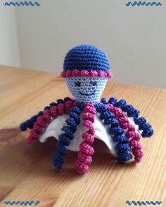 Dit inktvisje is gemaakt door Monique Koetsier.