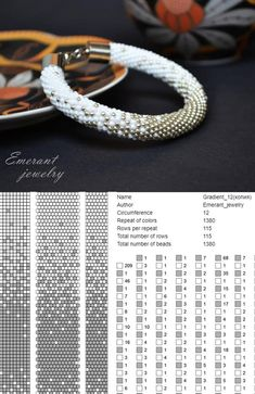 Bead crochet pattern ombre seed bead bracelet tutorial pdf beading master Class jewelry make necklace Crochet Rope tutorial geometric – Seed Bead Tutorials Seed Bead Bracelets Tutorials, Beaded Bracelets Tutorial, Beading Tutorials, Beads Tutorial, Bracelet Designs, Bead Crochet Patterns, Bead Crochet Rope, Seed Bead Patterns, Weaving Patterns