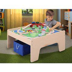 Table with Train Set and Fabric Box - Walmart.com