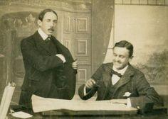 Santos Dumont e Charles Rolls - 1901