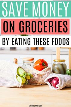 Do groceries eat up all of your money each month? Well not any more! Save money on groceries by eating these foods each month. I can't wait to try these money saving grocery tips. Save Money On Groceries, Ways To Save Money, Best Money Saving Tips, Saving Money, Dollar Store Hacks, Money Savers, Frugal Living Tips, Money Fast, Good And Cheap
