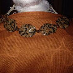 Vintage Genuine Stones Necklace