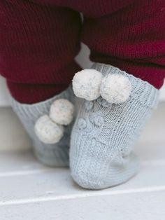 Vauvan Lumimarja-villasukat