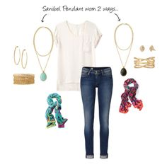 """sanibel pendant 2 ways"" by audrey-meade on Polyvore @Stella & Dot"