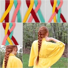 How to DIY Four Strand French Braid Hairstyle